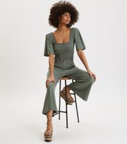 Odd Molly - Peppy Jumpsuit - CARGO GREEN