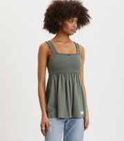 Odd Molly - Peppy Top - CARGO GREEN