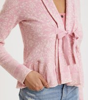 Odd Molly  - Canna cardigan - KISSED CORAL