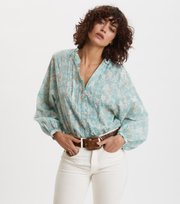Odd Molly - Memorable Blouse - BLUE SURF