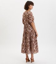 Odd Molly - Memorable Long Dress - BROWN HARMONY