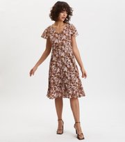Odd Molly - Memorable Dress - BROWN HARMONY