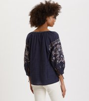 Odd Molly  - Treasure Blouse - DK BLUE