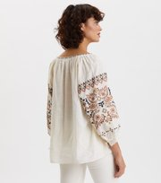 Odd Molly - Treasure Blouse - VANILLA