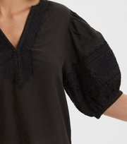 Odd Molly - Dynamic Blouse - ASPHALT