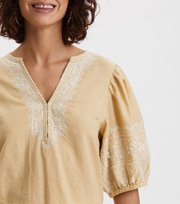Odd Molly - Dynamic Blouse - DUNE BEIGE