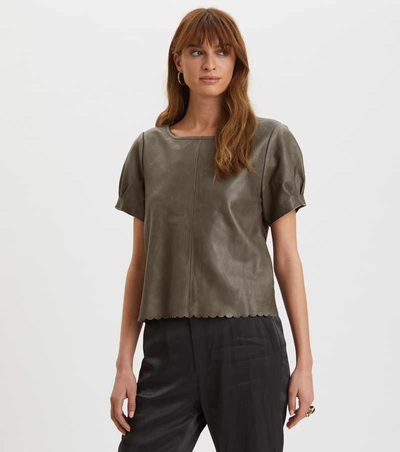 The One Leather T-Shirt