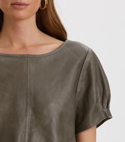 Odd Molly - The One Leather T-Shirt - FADED CARGO