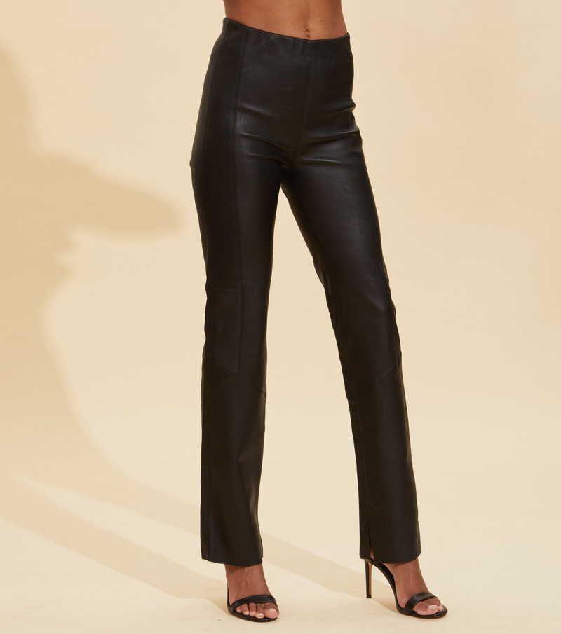 The One Leather Trousers