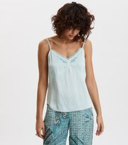 Odd Molly - Superiour Strap Top - FADED TURQUOISE