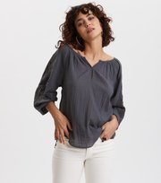 Odd Molly - Independent Blouse - ASPHALT