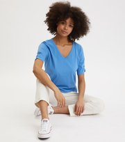 Odd Molly  - Putty Top - SPRING BLUE