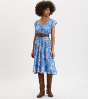 Odd Molly - Adore S/S Dress - SPRING BLUE
