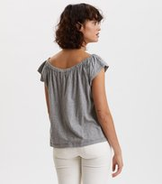Odd Molly - Dooer Top - LIGHT GREY MELANGE