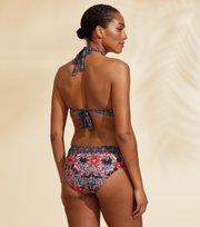 Odd Molly - Artsy Halterneck Bikini Top - NIGHT SKY BLUE