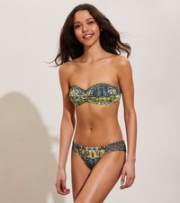 Artsy Bandeau Bikini Top