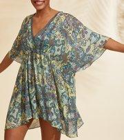 Odd Molly - Artsy Beach Dress - WILD GREEN