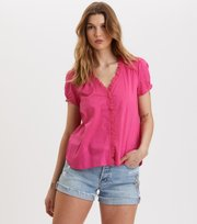 Sleeves Up S/s Blouse