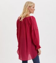 Odd Molly - Way To Go Tunic - DARK CERISE