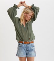 Odd Molly - Way To Go Bluse - CARGO GREEN