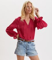 Odd Molly - Way To Go Blouse - DARK CERISE