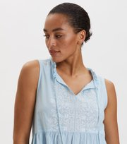 Odd Molly - All Is Love Embroidered Dress - LUCKY BLUE