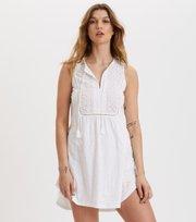 Odd Molly - Artful Dress - BRIGHT WHITE