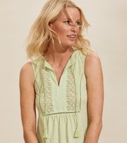 Odd Molly - Artful Dress - SPRING GREEN