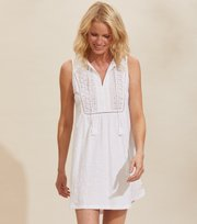 Odd Molly - Artful Dress - BRIGHT WHITE
