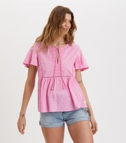 Odd Molly - Artful Blouse - PINK DELIGHT