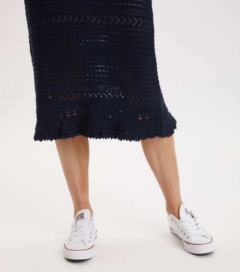 Illuminating Frill Skirt