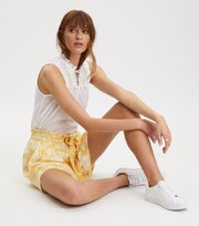 Odd Molly - Pretty Printed Shorts - VINTAGE YELLOW