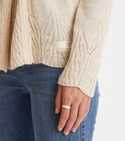 Odd Molly - Spun Dreams Cardigan - LIGHT PORCELAIN