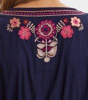 Odd Molly  - Flower Fantasia Dress - NIGHT SKY BLUE