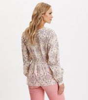 Odd Molly - My Athena Blouse - GOLDEN PORCELAIN