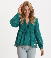Odd Molly - My Athena Blouse - VINTAGE TURQUOISE