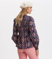 Odd Molly - My Athena Blouse - NIGHT SKY BLUE