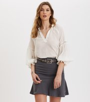 Odd Molly - Sweep Away Skirt - ASPHALT