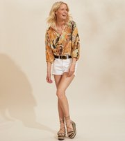 Odd Molly - Positano Blouse - GOLDEN BISCOTTI