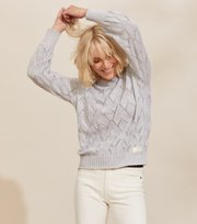 Odd Molly - Curious Sweater - LIGHT GREY MELANGE