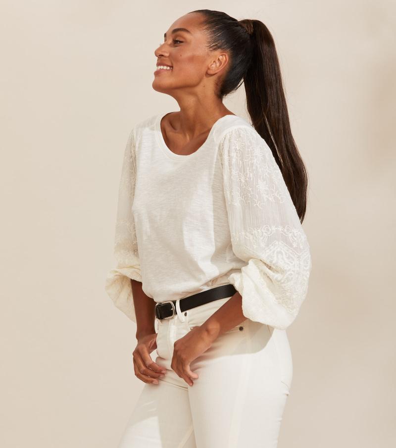 Swagy Long Sleeve Top