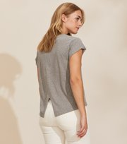 Odd Molly - Your Twist T-shirt - GREY MELANGE