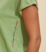 Odd Molly - Your Twist T-shirt - GARDEN GREEN