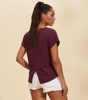Odd Molly - Your Twist T-shirt - DARK GRAPE