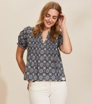 Odd Molly - Soul Of Sunshine Bluse - DARK BLUE