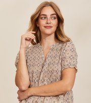 Odd Molly - Soul Of Sunshine Blouse - GOLDEN PORCELAIN
