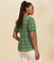 Odd Molly - Soul Of Sunshine Blouse - GREEN JADE