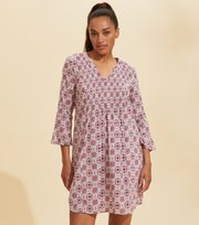 Odd Molly - Soul Of Sunshine Dress - SMOKEY PURPLE