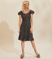 Odd Molly - Capri Dress - ASPHALT