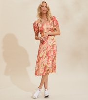 Odd Molly - Positano Dress - SPICED CORAL